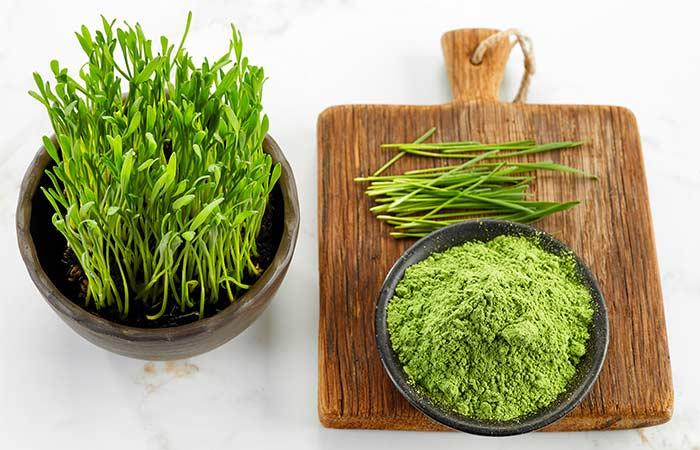 Wheat grass powder-pharmaceutical