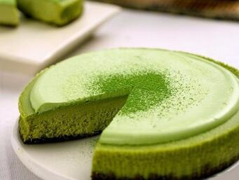 green tea powder cake
