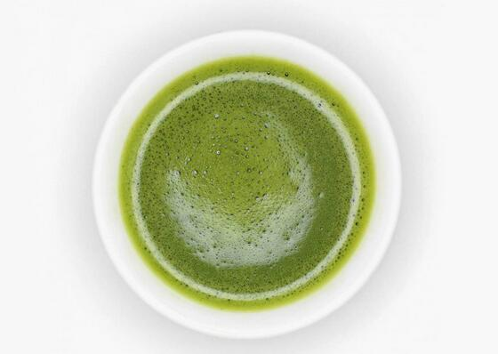 green tea powder juice