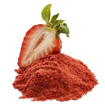 Organic Freeze Dried Strawberry Powder