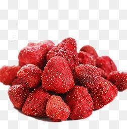 Organic Dried Strawberry Whole cut cube granule