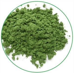 Green barley grass powder
